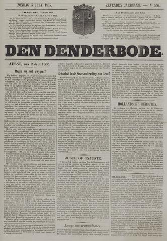 De Denderbode 1853-07-03