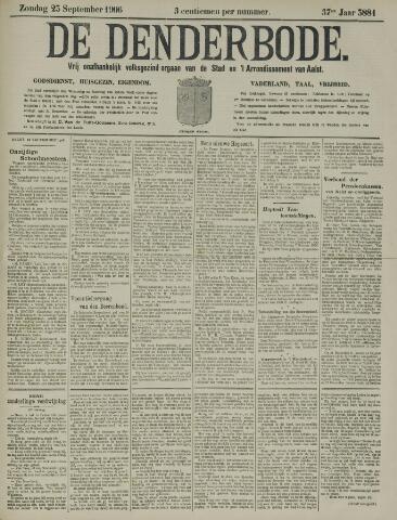 De Denderbode 1906-09-23