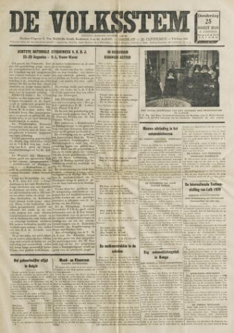 De Volksstem 1938-08-25