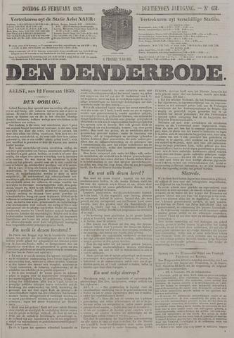 De Denderbode 1859-02-13