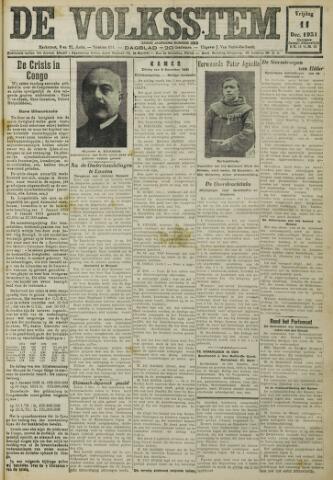 De Volksstem 1931-12-11