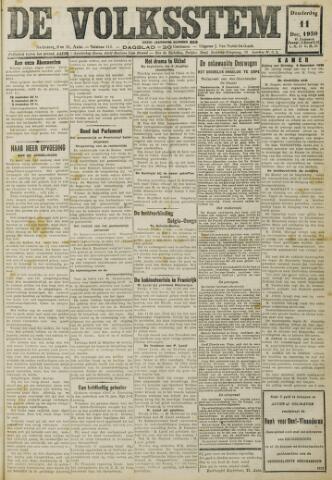 De Volksstem 1930-12-11