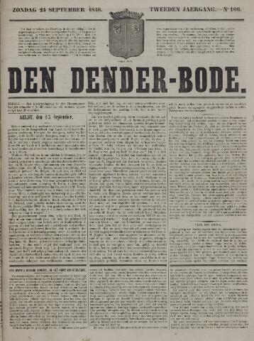 De Denderbode 1848-09-24