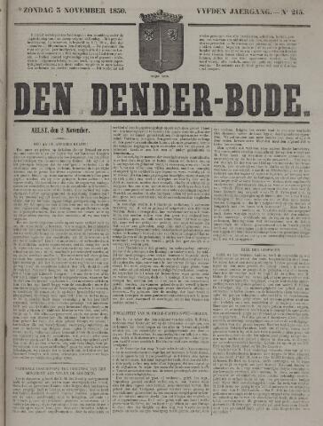 De Denderbode 1850-11-03