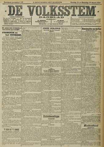 De Volksstem 1914-03-15