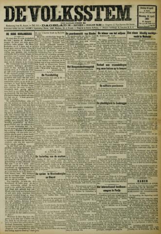 De Volksstem 1923-04-22