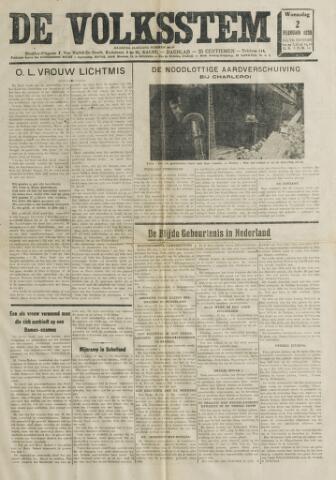 De Volksstem 1938-02-02