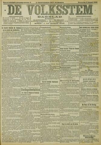 De Volksstem 1915-01-05