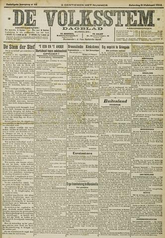 De Volksstem 1914-02-21