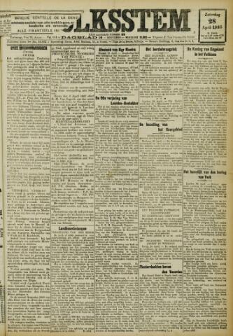 De Volksstem 1923-04-28