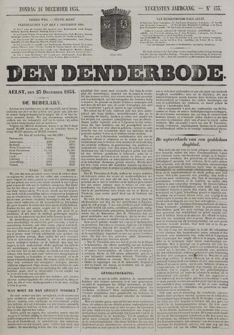 De Denderbode 1854-12-24