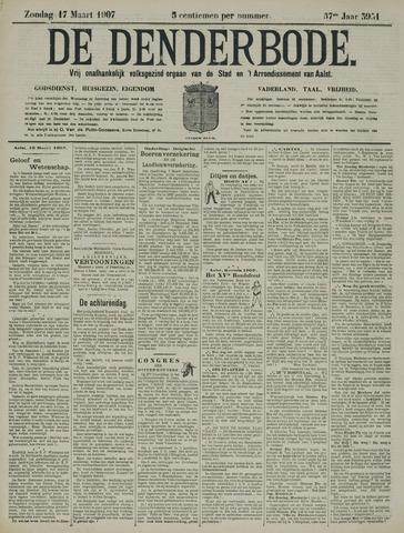 De Denderbode 1907-03-17