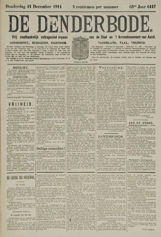 De Denderbode 1911-12-21
