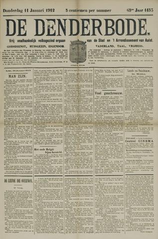 De Denderbode 1912-01-11