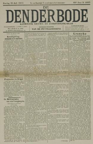 De Denderbode 1915-07-25