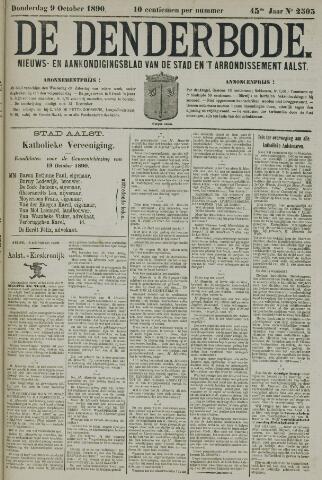 De Denderbode 1890-10-09