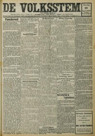 De Volksstem 1930-04-19