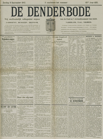 De Denderbode 1912-09-08