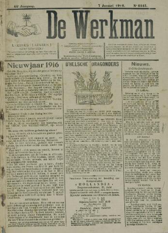 De Werkman 1916