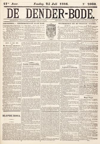 De Denderbode 1886-07-25