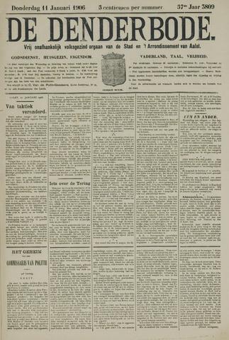 De Denderbode 1906-01-11