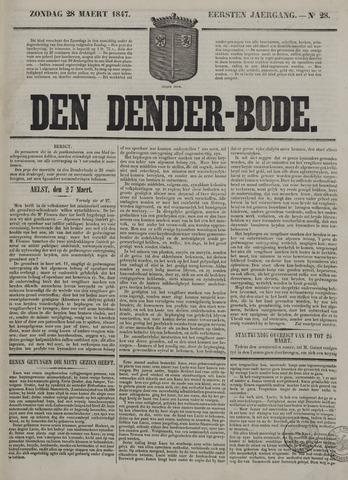 De Denderbode 1847-03-28