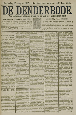 De Denderbode 1895-08-15