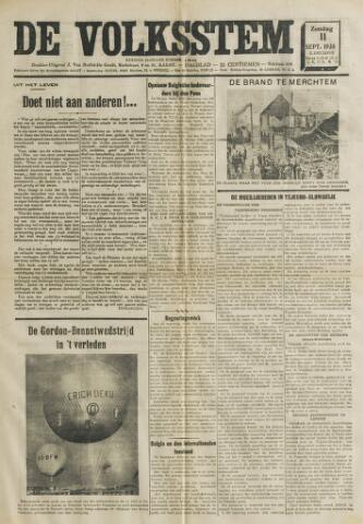 De Volksstem 1938-09-11