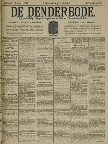 De Denderbode 1896-07-12