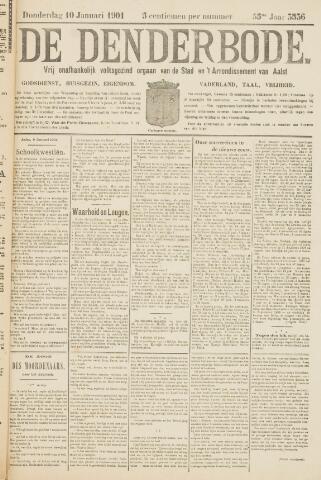 De Denderbode 1901-01-10