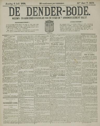 De Denderbode 1890-07-06
