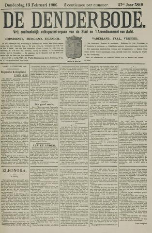 De Denderbode 1906-02-15