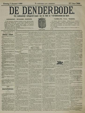 De Denderbode 1906-01-07