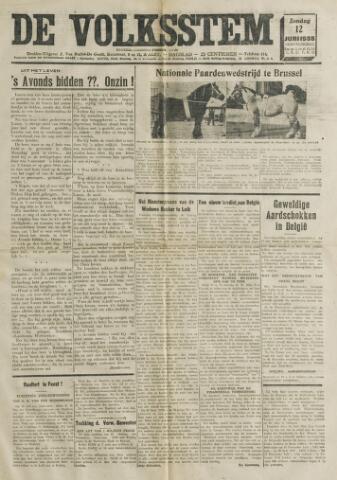De Volksstem 1938-06-12