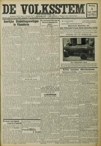 De Volksstem 1932-04-05