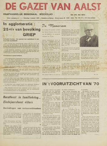 De Gazet van Aalst 1970