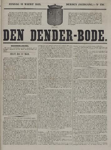 De Denderbode 1849-03-11
