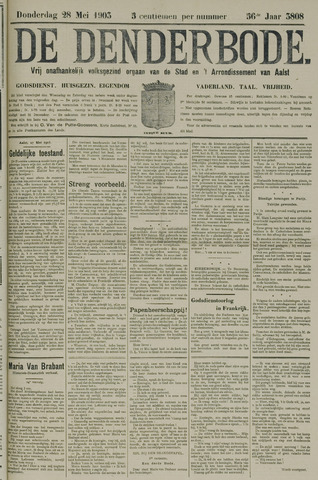 De Denderbode 1903-05-28