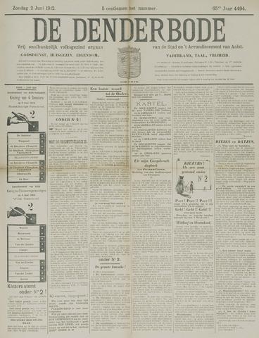 De Denderbode 1912-06-02