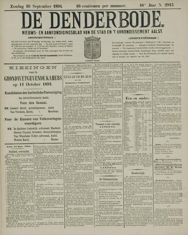 De Denderbode 1894-09-16