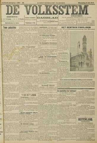 De Volksstem 1910-07-06