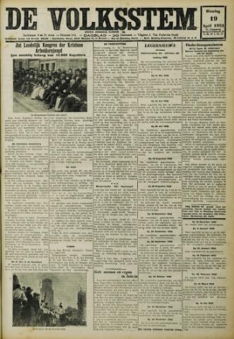De Volksstem 1932-04-19