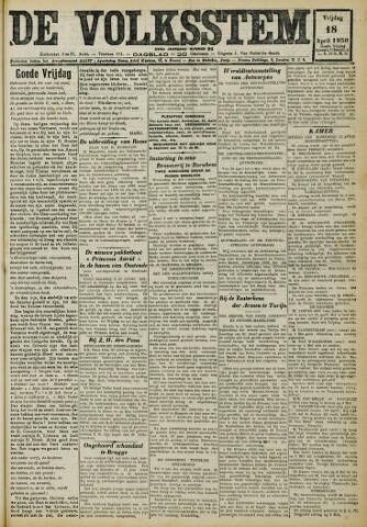 De Volksstem 1930-04-18