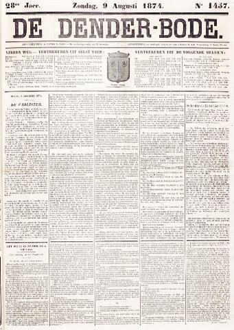 De Denderbode 1874-08-09