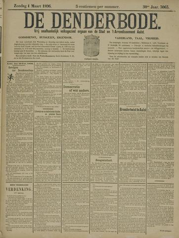 De Denderbode 1896-03-01