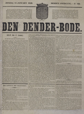 De Denderbode 1849