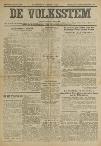 De Volksstem 1941-12-25
