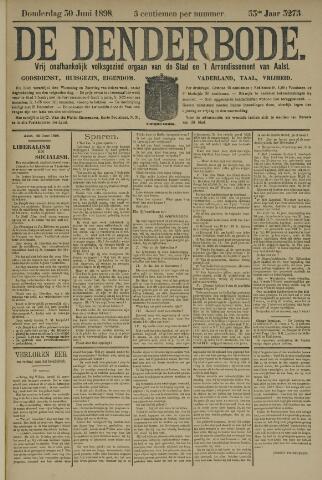 De Denderbode 1898-06-30