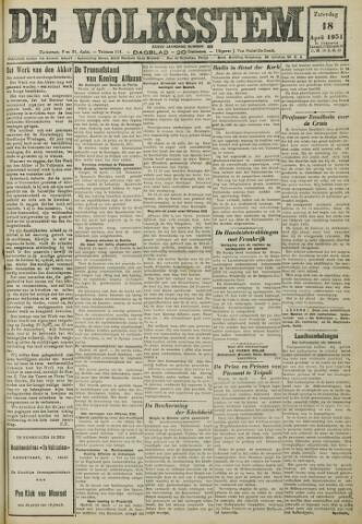 De Volksstem 1931-04-18