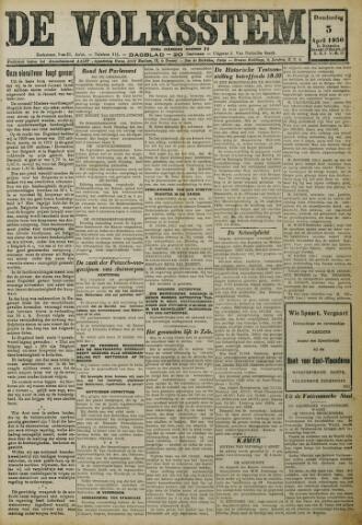 De Volksstem 1930-04-03